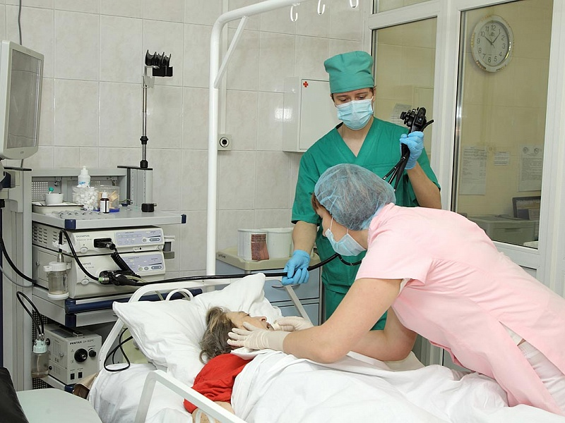 Больница в лесном городке города ленинска-кузнецкого